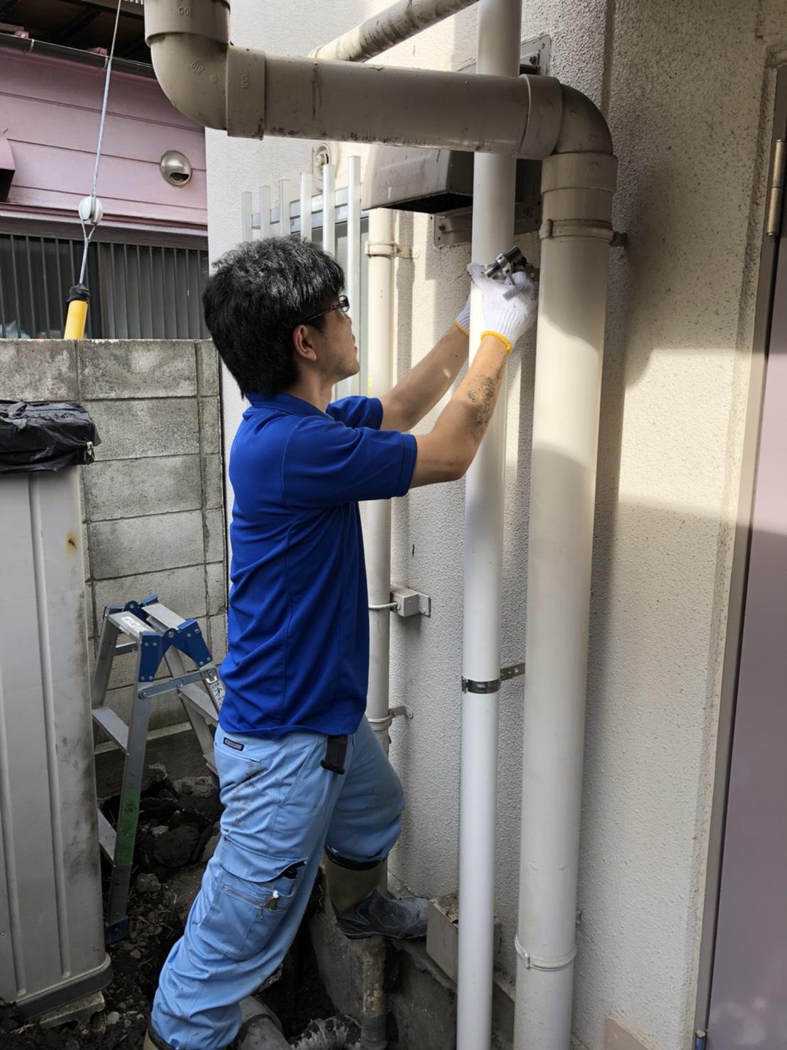 屋外排水管改修.JPG